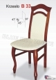 Krzesło B33 45x97 buk lakier