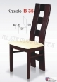 Krzesło B35  44x100 buk lakier