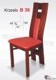 Krzesło B36  44x100 buk lakier