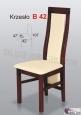 Krzesło B42 47x107 buk lakier