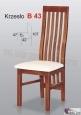 Krzesło B43 47x107 buk lakier
