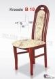 Krzesło B10  46x100 buk lakier