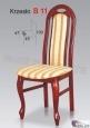 Krzesło B11  46x100 buk lakier