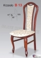 Krzesło B13 46x105 buk lakier