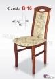 Krzesło B16 46x96 buk lakier