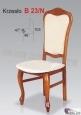 Krzesło B23/N  46x103 buk lakier