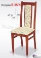 Krzesło B25/N  42x99 buk lakier