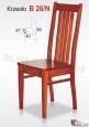 Krzesło B26/N  42x99 buk lakier