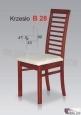Krzesło B28  44x99 buk lakier