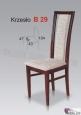 Krzesło B29  43x104 buk lakier