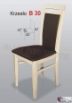 Krzesło B30  45x97 buk lakier