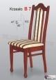 Krzesło B7 42x102 buk lakier