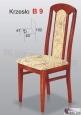 Krzesło B9  42x102 buk lakier
