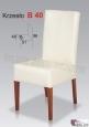 Krzes?o B40  46x96 buk lakier