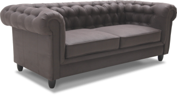 CHESTERFIELD 3 Sofa 202x90 spręż. falista